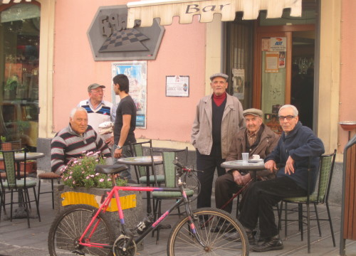 The men of Nicolosi, Sicily
