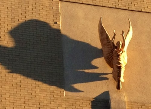 even angels have shadows